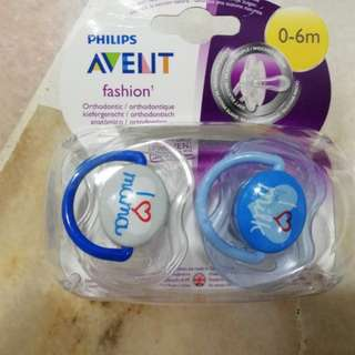 Avent fashion orthodontic 0-6m