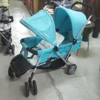 Mamalove Twin Stroller