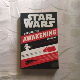 Star Wars Before the Awakening by Greg Rucka