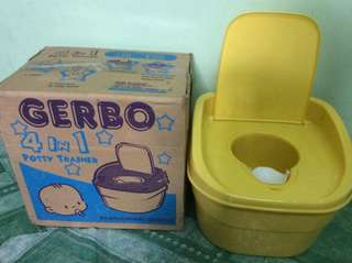 REPRICED !!! GERBO 4&1 potty trainer