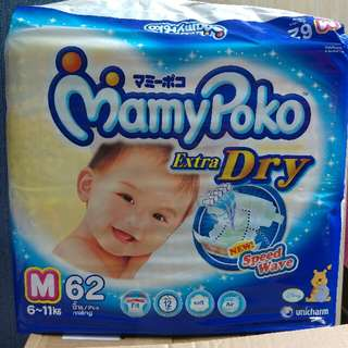 Mamy Poko Size M Tape Diapers