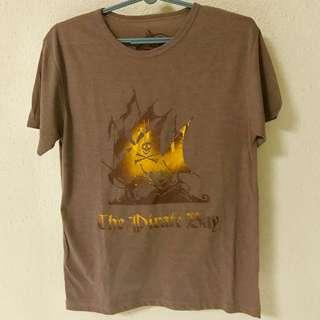 The Pirate Bay Graphic T-shirt (Medium Size)