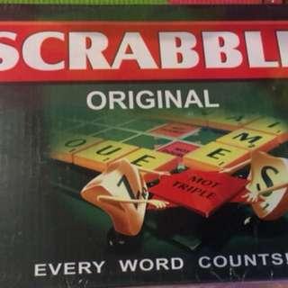 Original and Brand New Scrabble Boardgame