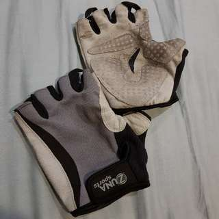 Gloves half finger XL for cycling