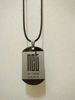 NCT DREAM NECKLACE