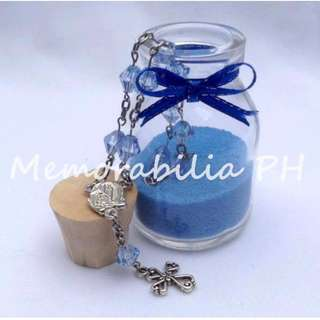 Bottle with Cork Giveaway - Souvenir for Baptism/Other Events