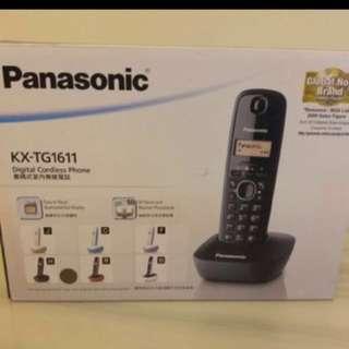 全新1年保養Panasonic KX-TG1611室內無線電話