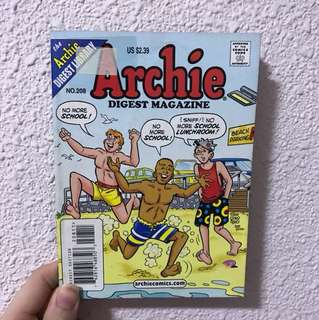 Archie Digest Magazine No. 208 Comic book