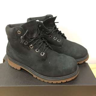 Timberland boots, UK SIZE 1.5.  Worn for a trip only.