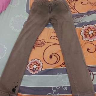 Celana Tira Jeans Coklat