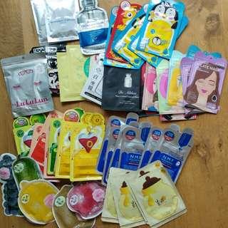 $50日本韓國台灣面膜福袋