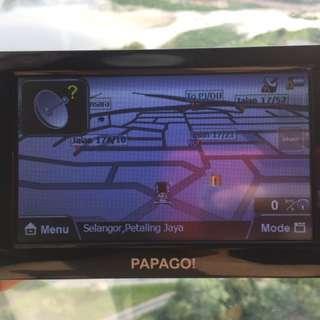 Papago GPS