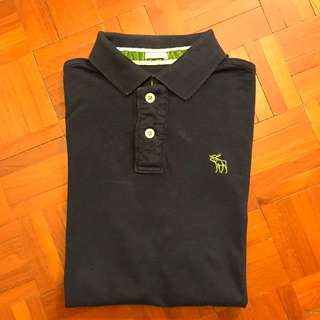 A&F Polo shirt (Navy blue)