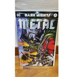 Dark Nights Metal #1 Simon Bisley Midtown Variant DC Comics Batman NM