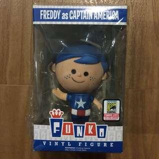Freddy funko Captain America Vinyl figure