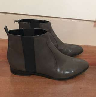 Grey Nine West Boots