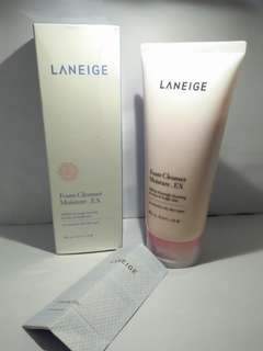 Laneige foam cleanser 180ml