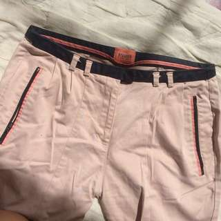 Bershka peach pants