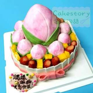 壽桃大壽蛋糕