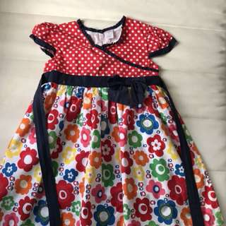 Flower Dress 6 years old