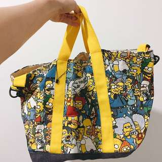 Original Simpsons canvas tote bag