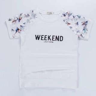 New: Korean-style short sleeve slim t-shirt