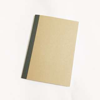 MUJI A5 kraft notebook 30s