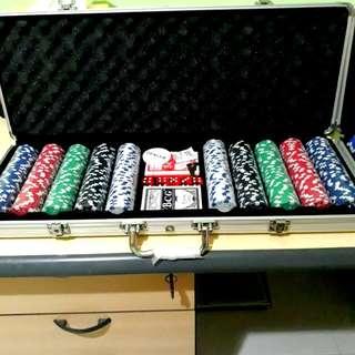 500pcs Poker Chips