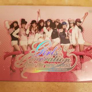 SNSD FIRST ASIA TOUR DVD