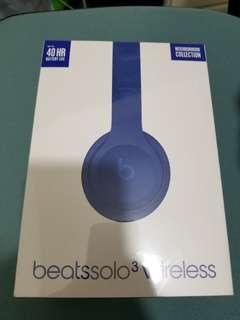 100% 全新 Beats Solo3 Wireless 無線 耳機 有保養