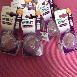 Philips Avent Natural & Classic Teats