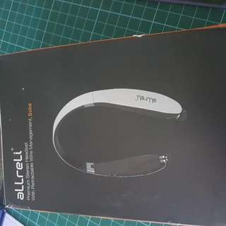 Allreli  Premium Stereo Headset With Retractable Wire Management