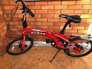 GTA Foldable Bike - Red