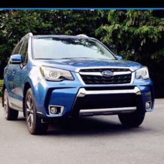 Subaru Forester Front and Rear Bumper