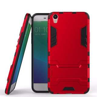Case Oppo F1 Plus / R9 Ironman (Armor Shield) Series With Stand Mode