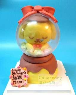 布甸狗水晶球蛋糕