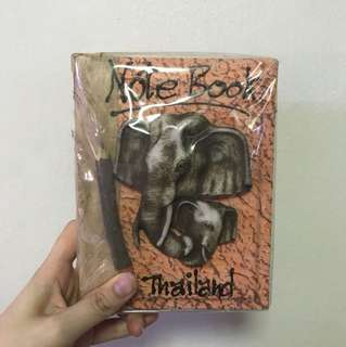 Elephant note book