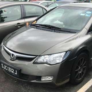 Honda Civic fd 1.8a SG