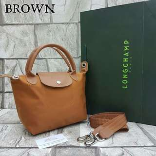 Longchamp Neo Small Brown Color