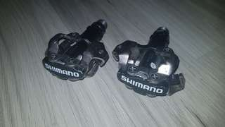 Shimano MTB cleats pedal.