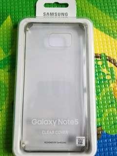 Note 5原廠手機壳(包平郵)