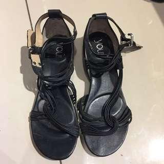 Black Sandals You By Crocs
