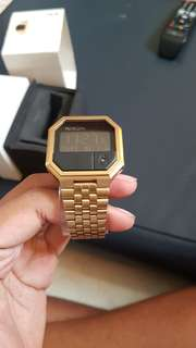 Nixon Re-Run / Rerun Rose Gold Fullset Murah