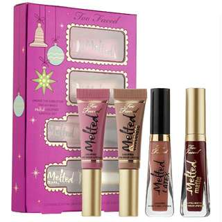 TOO FACED KISSMAS SET