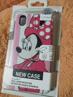 Brand New Oppo A37 Minnie Mouse Case with tempered