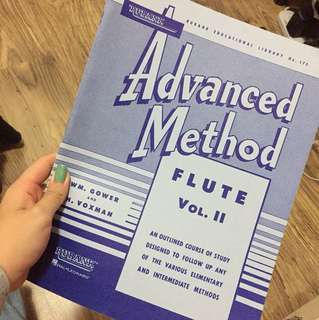 Advanced method- flute vol. II