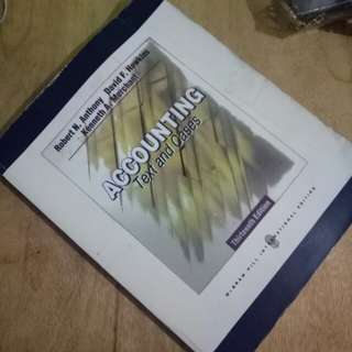 Accounting Texts and Cases 13th ed by Anthony, Hawkins, Merchant book alike