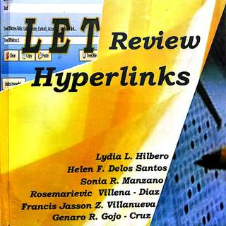 LET Review Hyperlinks by Lydia Hilbero