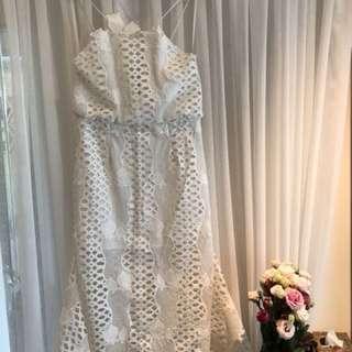 Alice McCall White Lace Dress