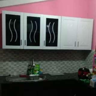 Lemari Gantung Dapur Minimalis 5 Pintu